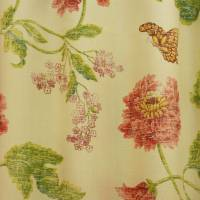 Flower Fabric - Green