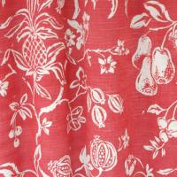 Formosa Fabric - Soft Red