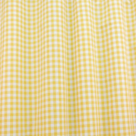 OUTLET SALES All Fabric Categories Gingham Fabric - Yellow - GIN001