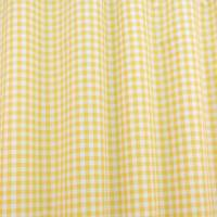 Gingham Fabric - Yellow