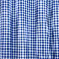 Gingham Fabric - Blue