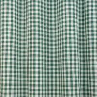 Gingham Fabric - Green