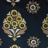 Harlequin Floral Memi Fabric - Black