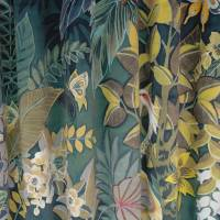 Hidden Paradise Fabric - Emerald