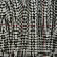 Houndstooth Fabric - Black