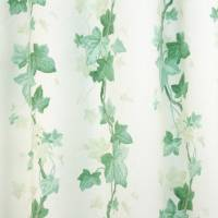Ivy Leaf Fabric - Green/White
