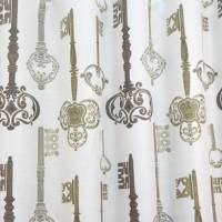 Keys Fabric - Antique