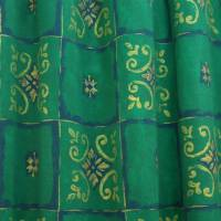 Kumta Fabric - Green/Gold