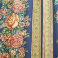 Marcy Fabric - Blue/Moth