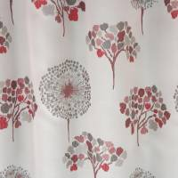 MJ Trees Fabric - Burgundy