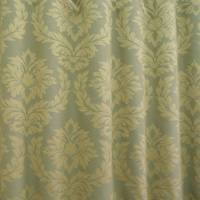 Moon Damask Fabric - Green