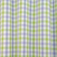 Hereford Fabric - Green/Lilac