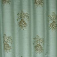 James Hare Pineapple Fabric - Duckegg