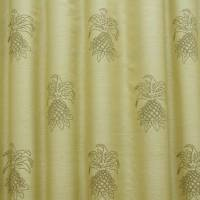 James Hare Pineapple Fabric - Golden Corn