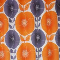 Poppy Fabric - Jaffacake