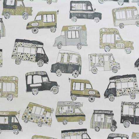 OUTLET SALES All Fabric Categories Prestigious Textiles Gelato Fabric - Graphite - GEL002