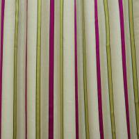 James Hare Ribbon Stripe Fabric - Cerise