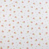 Roses Small Fabric - Pink