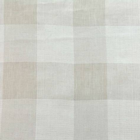 OUTLET SALES All Fabric Categories Rowan Check Fabric - Natural - ROW001