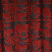 Safari Fabric - Red