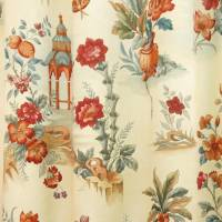 Sutton Park Fabric - Terracotta