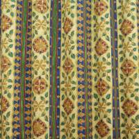 Floral Stripe Fabric - Multi