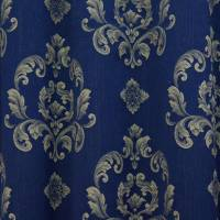 Jacquard Fabric - Navy