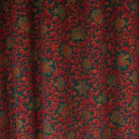 Vine Fabric - Red