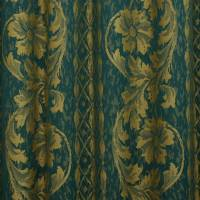 Floral Fabric - Green
