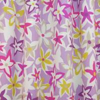 Starflowers Fabric - Berry/Multi