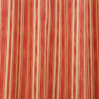 Stripe Fabric - Rust