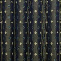 Tiberio Fabric - Blue/Beige