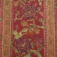 Tudor Roses Fabric - Multi