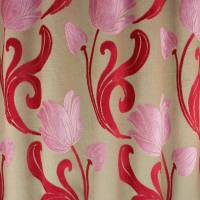 Tulips Fabric - Pink