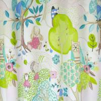 Woodland Friends Fabric - Rose