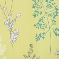 Summer Meadow Fabric - Citrus/Teal