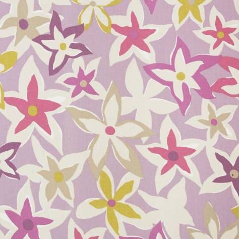 OUTLET SALES Morris / Sanderson Exclusive Clearance! Starflowers Fabric - Berry/Multi - 222714C