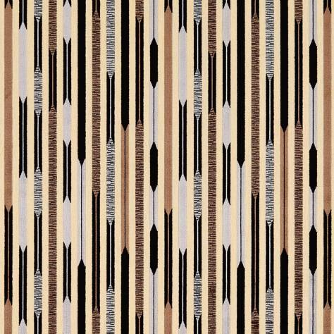 OUTLET SALES Morris / Sanderson Exclusive Clearance! Kandinsky Fabric - Black/Silver - 230007C