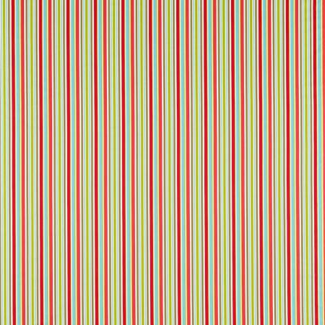 OUTLET SALES Morris / Sanderson Exclusive Clearance! Candy Stripe Fabric - Red/Blue - 232309C