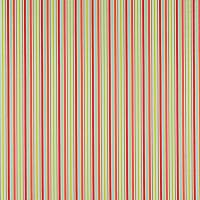 Candy Stripe Fabric - Red/Blue