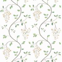 Asami Embroidery Fabric - Ivory/Linen