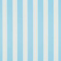 Asami Stripe Fabric - Wedgewood/Neutral