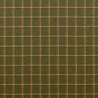 Woodford Check Fabric - Sage