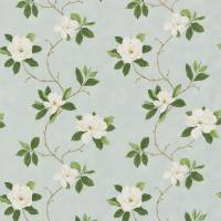 Sweet Bay Fabric - Wedgewood/Cream