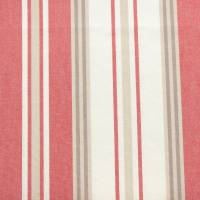 Hopwell Stripe Fabric - Red