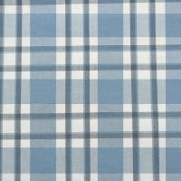 Talla Check Fabric - Navy