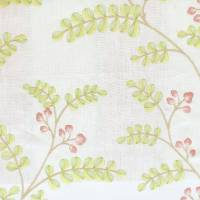 Delphine Fabric - Pink/Green