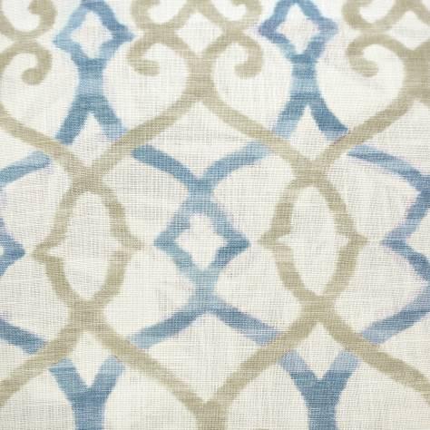 Silwood Fabric Blue J879f 01 Jane Churchill