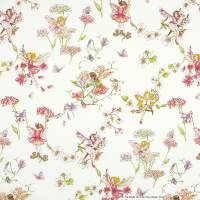 Blossom Flower Fairies Fabric - Cream