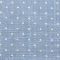 Pippin Spot Fabric - Dark Blue